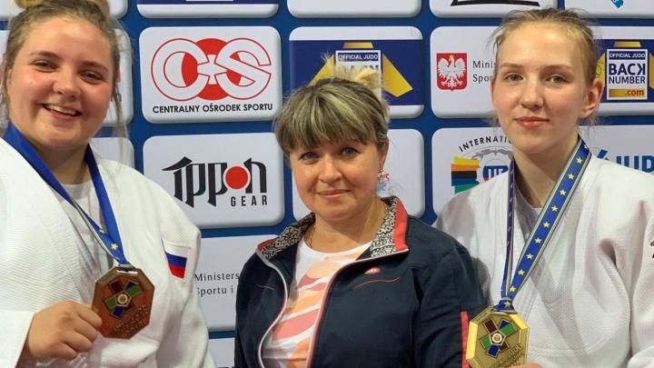 Свердловчанки завоевали бронзу в составе сборной на первенстве Европы по дзюдо