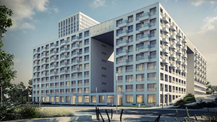 Дом с мостами: новый квартал по голландскому проекту строят на берегу Оби
