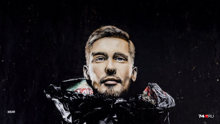 «Жень, вынеси мусор»: челябинец нарисовал для Тефтелева граффити про коллапс с отходами