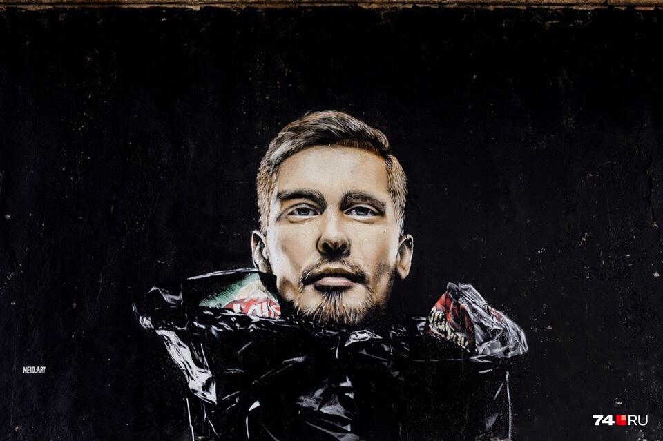 Этот рисунок, по словам художника, отражает отношение властей к горожанам и проблеме с вывозом мусора