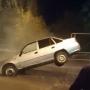 «Чуть не сварился в кипятке»: в Самаре на улице Мориса Тореза легковушка нырнула под асфальт