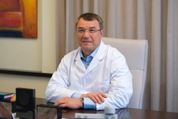 Главный офтальмолог Свердловской областиОлег Владимирович Шиловских