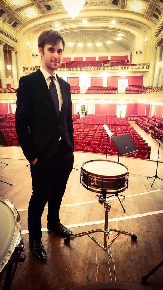 Сергей в Венском Концертхаусе