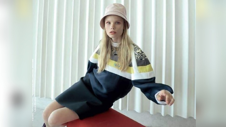 Популярная модель из Красноярска попала на обложку L'officiel