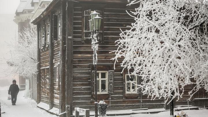 В Красноярск на два дня возвращаются морозы