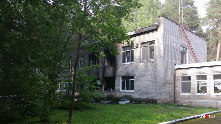 «На месте работает оперативная группа»: подробности пожара в детском санатории в Усть-Качке