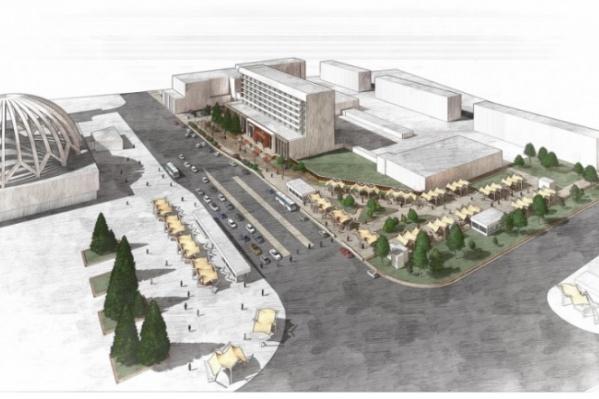 Проект реконструкции площади