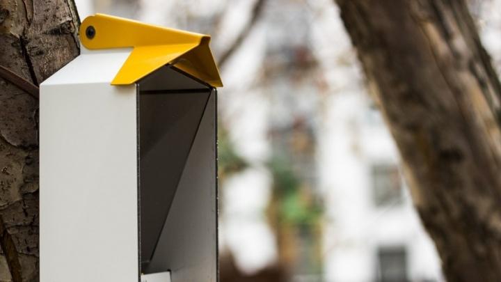 Екатеринбуржцы создали хай-тек-кормушки для птиц и отправят их Николаю Дроздову и японской принцессе