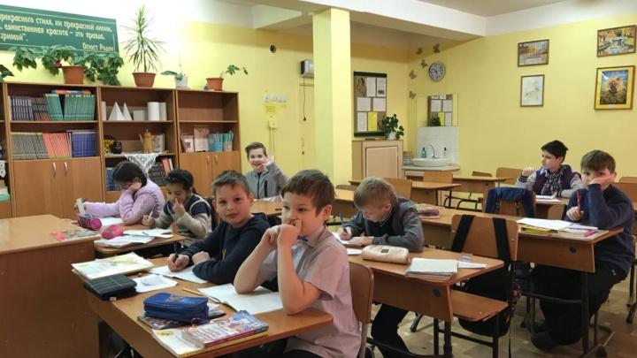 В Красноярске потеплело, но в школы вернулась лишь половина учеников