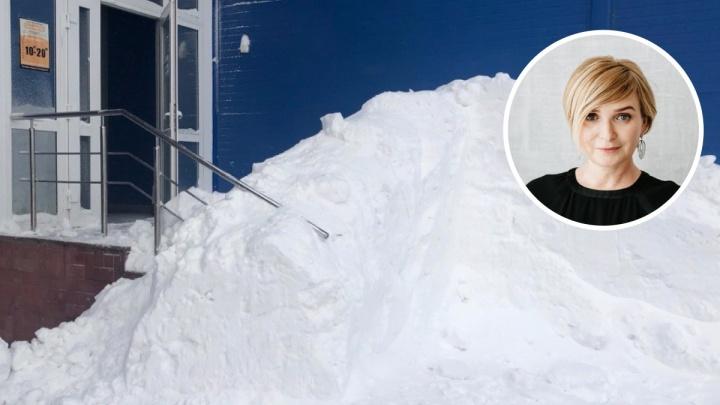 Чиновница мэрии заявила, что новосибирцы воспринимают бесплатную уборку снега как данность