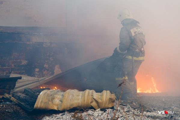 С огнём боролись несколько часов