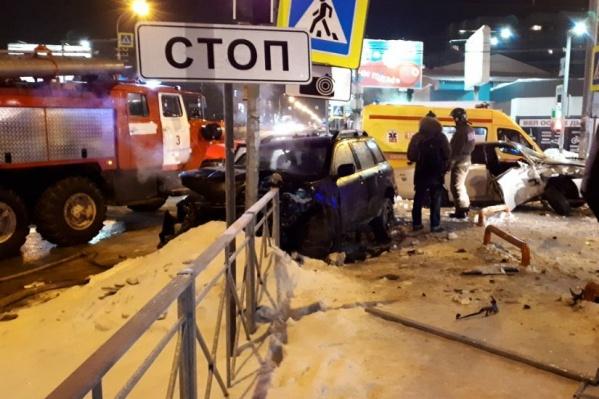 Авария случилась на перекрёстке Кирова и Никитина