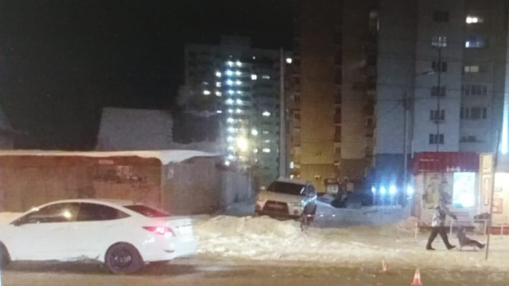 Hyundai Solaris сбил ребёнка в Октябрьском районе