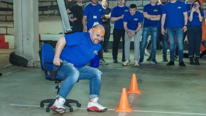 Забеги до кулера: в Красноярске решено провести чемпионат по офисным видам спорта