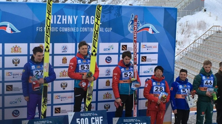 Двоеборец из Башкирии взял серебро Континентального кубка