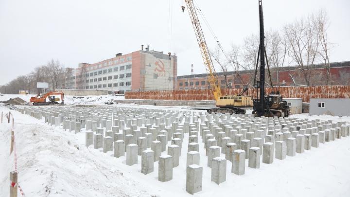 «Работа идёт по плану»: «Курганстальмост» рассказал о строительстве нового моста ЖБИ