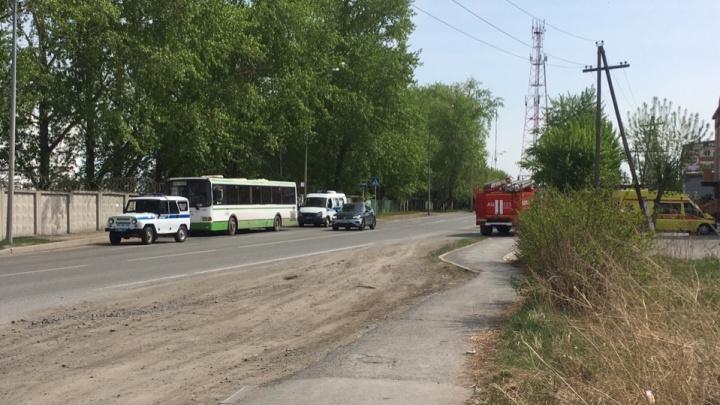 На Полевой полиция искала бомбу в автобусе №17