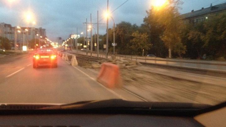 На Макаровском мосту изменили схему движения для автомобилей