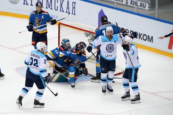 Соперники смогли забить только одну шайбу в ворота «Сибири»