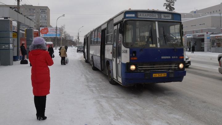 В новогодние каникулы автобусы в Екатеринбурге сменят расписание: публикуем график