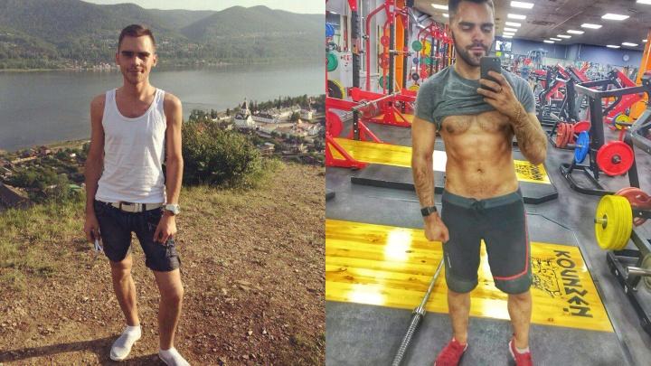 Резко похудевший из-за диабета красноярец рассказал, как набрал 20 кг ради нового образа в зеркале