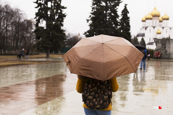 Сезон дождей начнётся в Ярославле с сегодняшнего дня