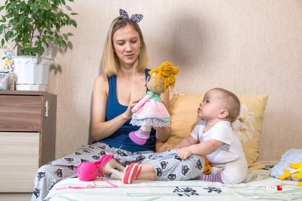 Став мамой-одиночкой, Женя нашла свое новое призвание