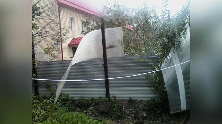 Шторм разрушил вольер для диких птиц в центре помощи дикой фауне «Мата-Мата»