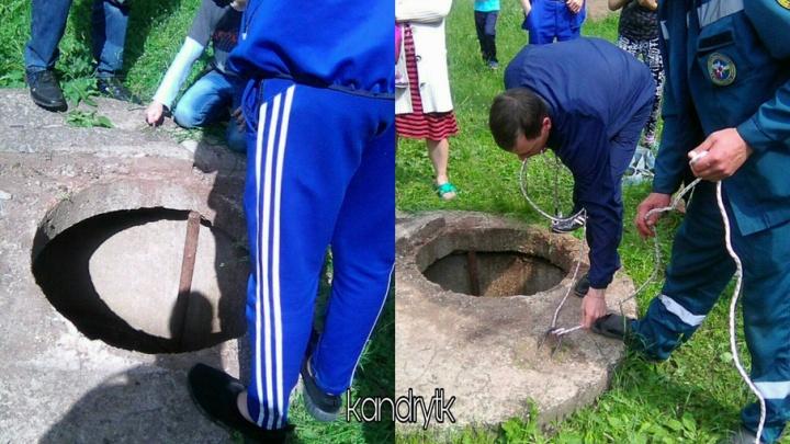 В Башкирии мальчик упал в шестиметровый колодец