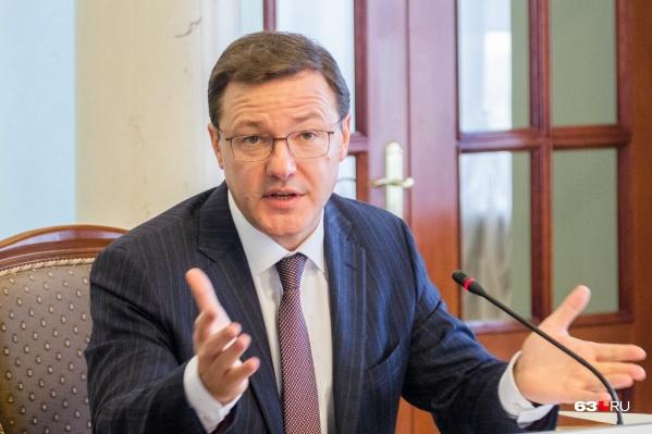 Глава Самарской области попросил горожан отложить уборку до 5 января