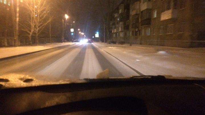 Ожидание — реальность: как в Уфе убрали дороги после первых снегопадов