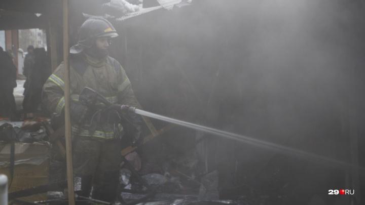 «Вернулась за деньгами»: в Устьянском районе при пожаре погибла пенсионерка