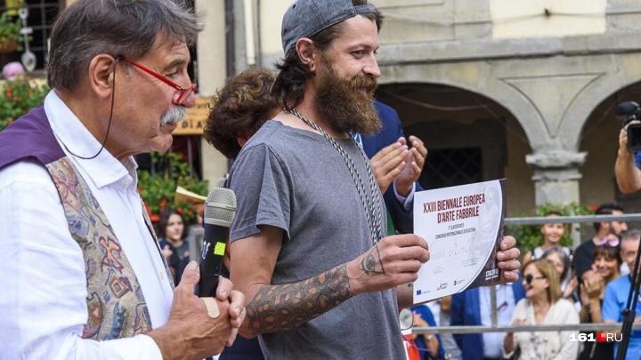 Кузнец из Таганрога Роман Кость победил на международном фестивале в Италии