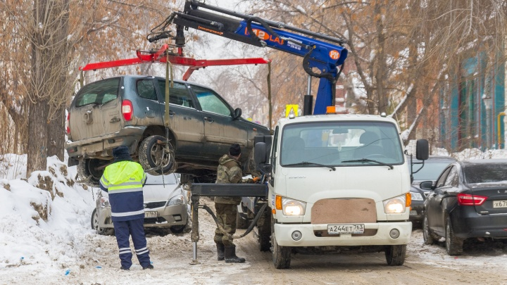 Эвакуация машин: в Самарской области власти готовят передел системы
