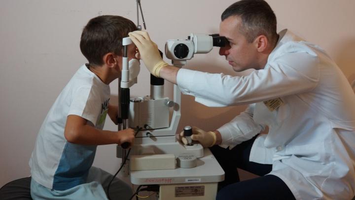 В Самаре врачи восстановили ребенку разорванный глаз