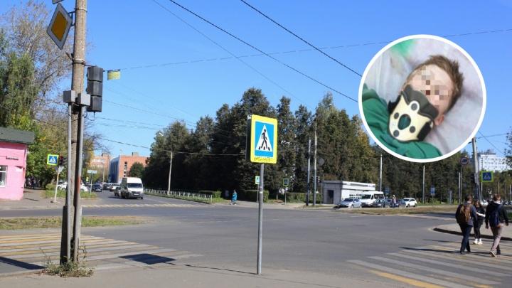 «Ребёнка сильно подбросило»: очевидцы рассказали, как в Ярославле машина сбила 12-летнего мальчика