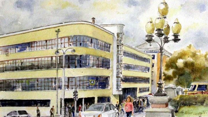 В Екатеринбурге открылась выставка картин про очарование города, в которые невозможно не влюбиться