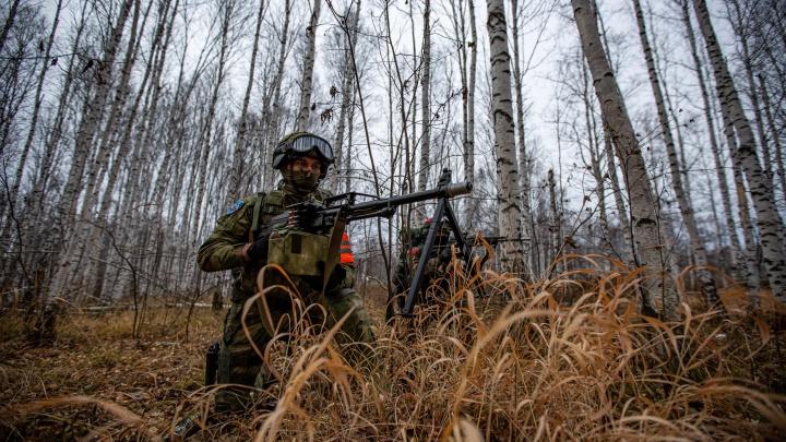 Как российско-китайский спецназ ловил «боевиков» под Новосибирском: 20 мощных кадров с учений