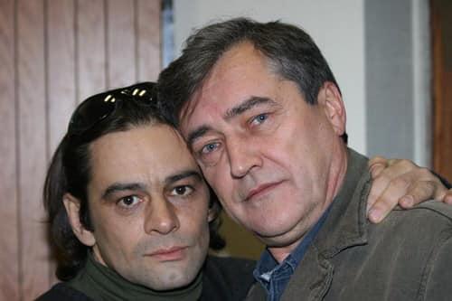 Дмитрий Матвеев (справа) сыграл в десятках фильмов и сериалов