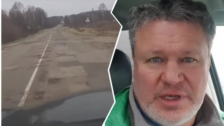 В правительстве ответили на претензии Олега Тактарова к дороге от Вознесенского до Выксы