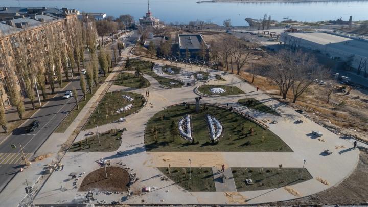 В Волгограде сорвали сроки благоустройства сквера Пушкина по президентской программе