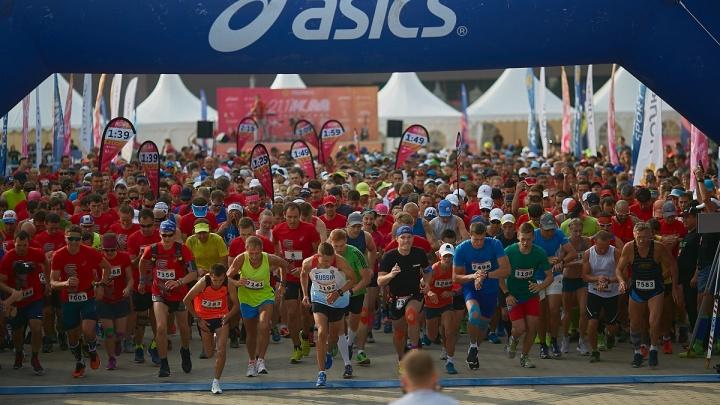 В Красноярске 2500 участников выйдут на старт красмарафона «Жара»