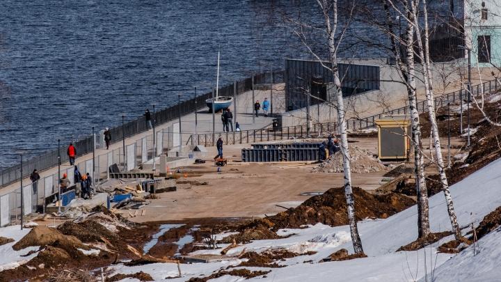 Фотопрогулка по набережной Камы: смотрим, где появятся спортивная и детская площадки