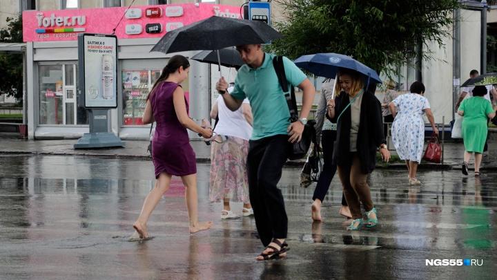 После тридцатиградусной жары в Омск придёт похолодание