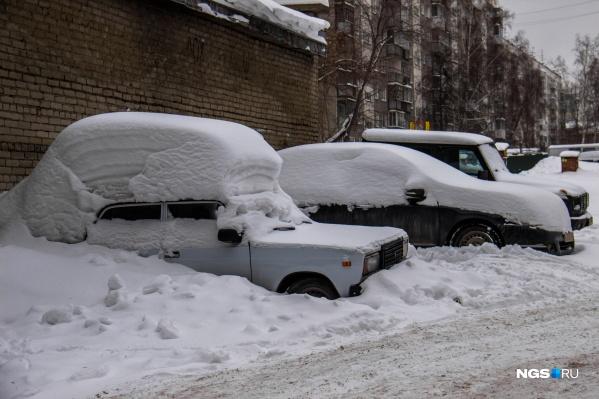 Снегопады очень часто шли во время праздников