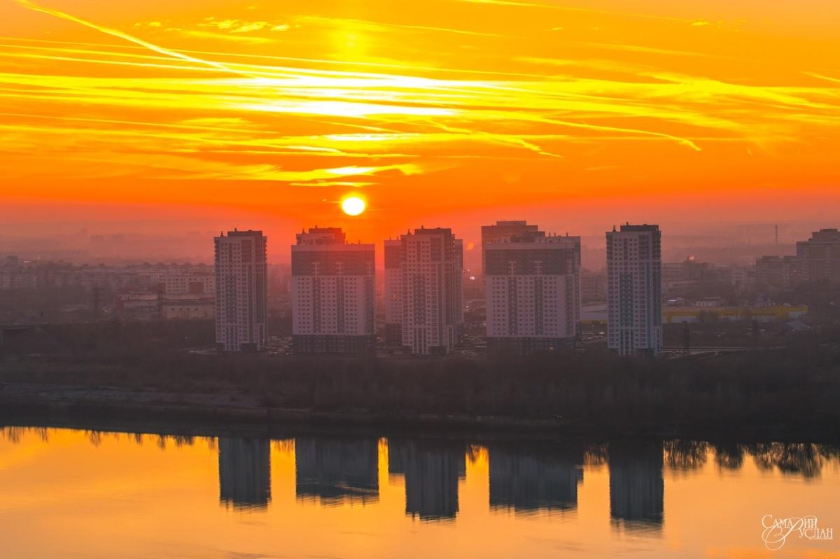 Нижегородские закаты уже стали легендой