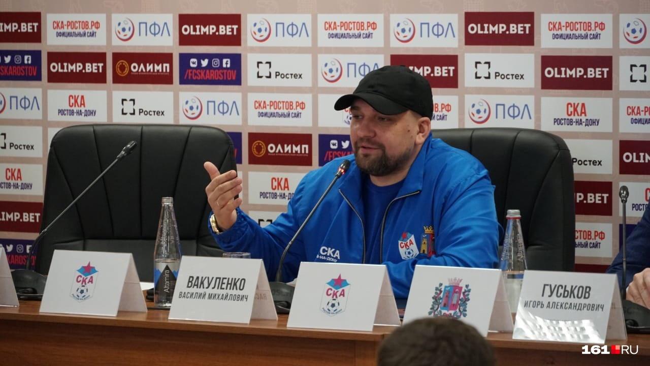 Баста заручился поддержкой замгубернатора области Игоря Гуськова