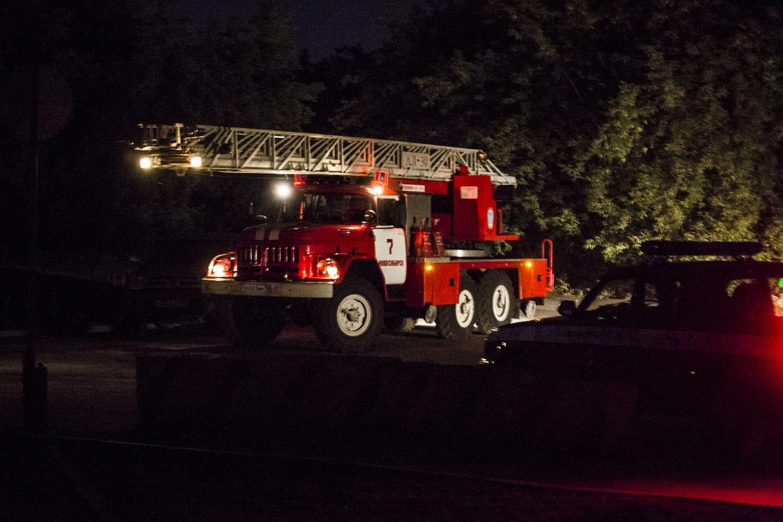 Немного фотографий пожарной техники от нашего фотографа с места событий
