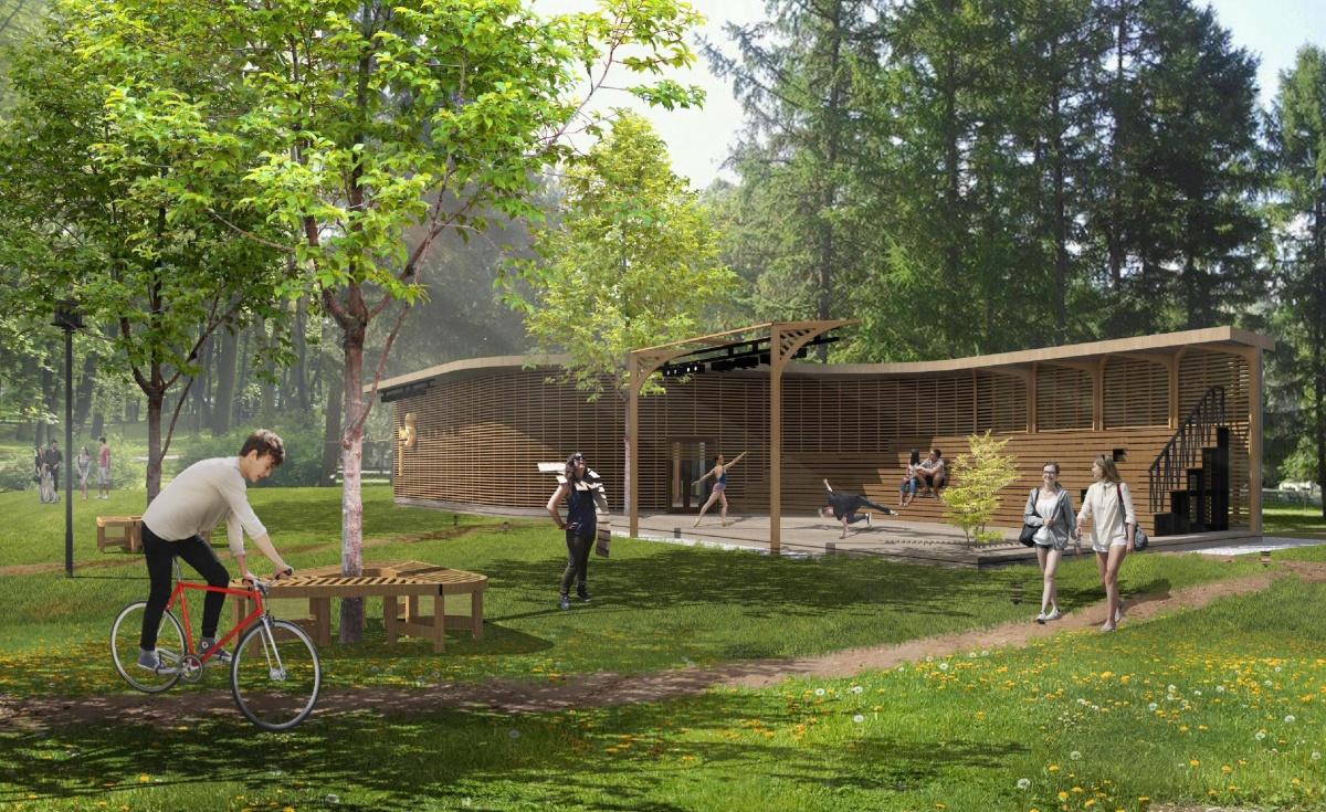 Нижегородцы выбрали дизайн-проект павильона для городских парков