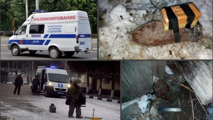 Житель Башкирии нашел снаряд эпохи Гражданской войны
